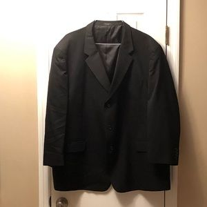Men's Jones NY Suit Jacket, Black, Size 54